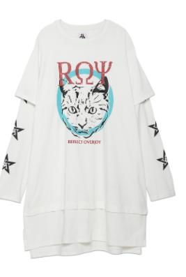 ROYロゴTシャツ
