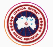 カナダグースロゴ