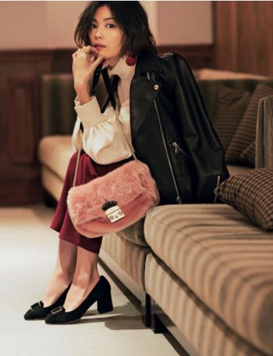 ピンクのバッグ何歳まで