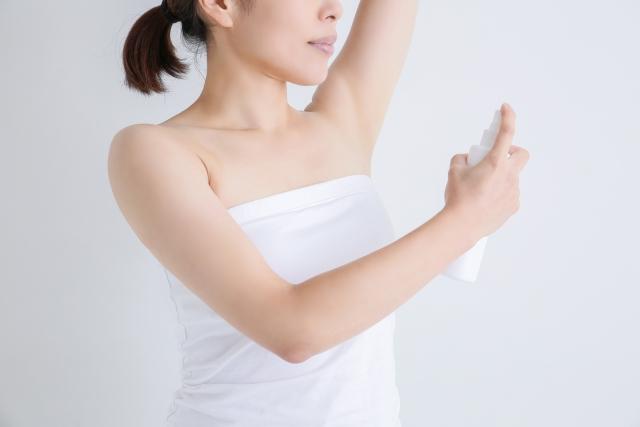 脇汗の量や脇汗に臭いが気になるときの改善方法