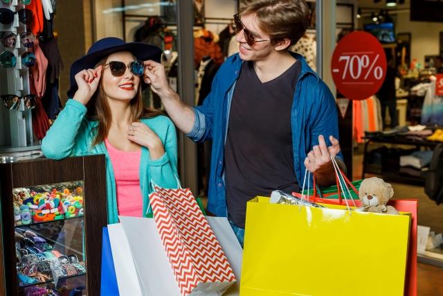 買い物を通して友人と会話をしたり、コミュニケーションをとるのが楽しい