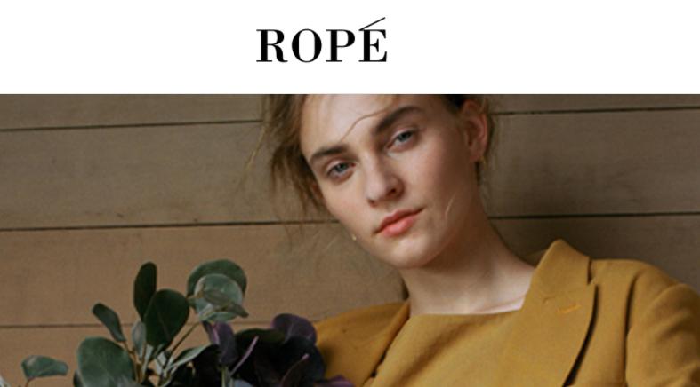 ROPEのTOP