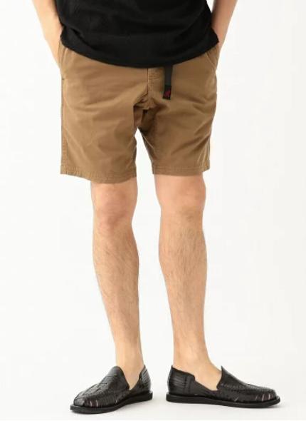 グラミチのハーフパンツ(ロングもあり)は一着は持っておきたいアイテム