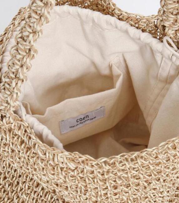コロンとした丸みが可愛い!ナチュラルなマクラメ編みのバッグ2