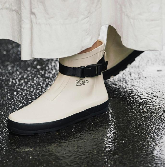マルケ|作業用ゴム長靴を日常使いに、着脱が簡単+シルエットが最高
