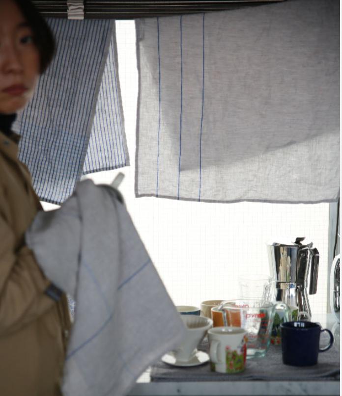 リネン1|台所で大活躍間違いなし!食器が沢山ふけるキッチンタオル1