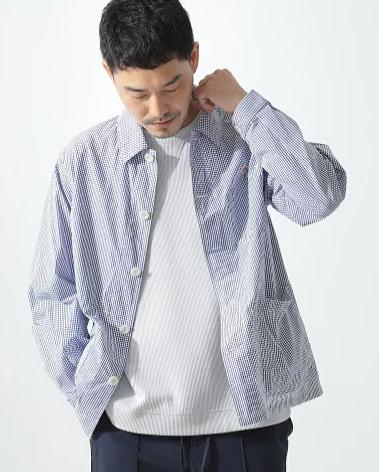 春夏にぴったりな清涼感のあるDANTON(ダントン)のシャツ
