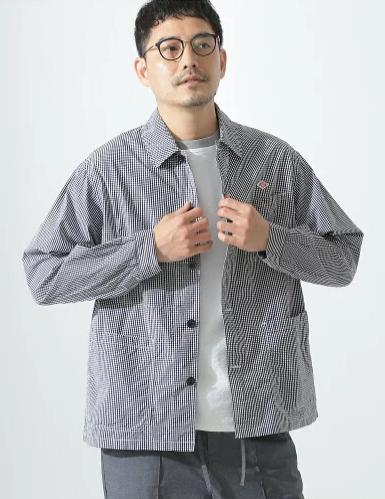 春夏にぴったりな清涼感のあるDANTON(ダントン)のシャツ1