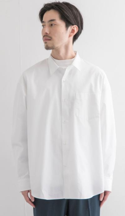 男性|1枚は持っておきたい!カジュアルにも綺麗めにも着られるシャツ1