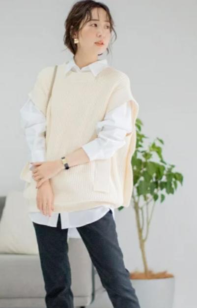 白シャツ⑤着こなしに慣れてきたら定番の白シャツにも挑戦1