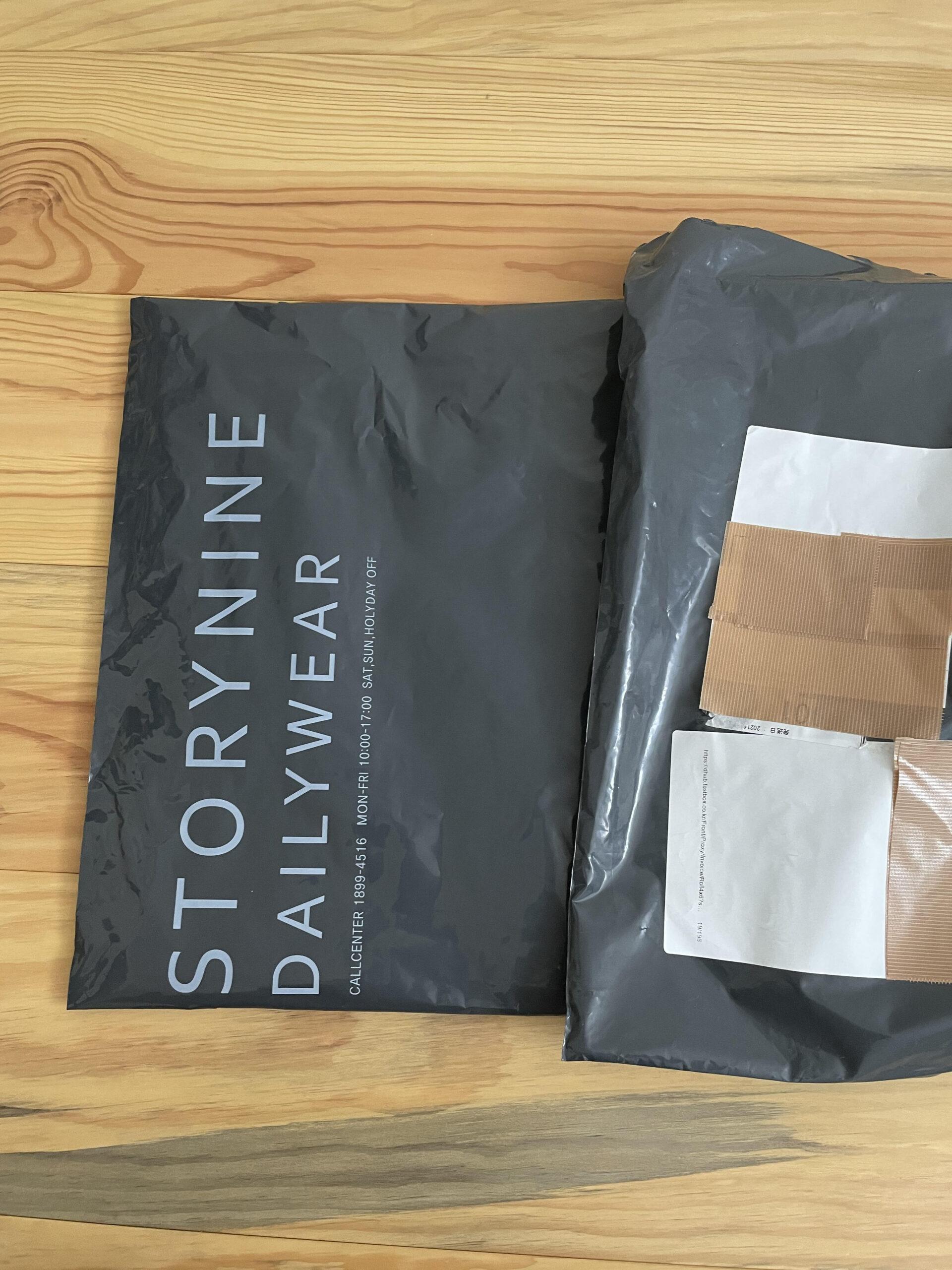 商品の入っている外の袋が2重になっているのは好印象